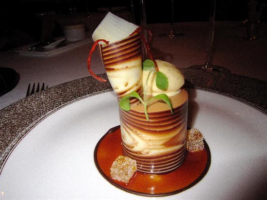 Glenapp Castle: Our dessert!
