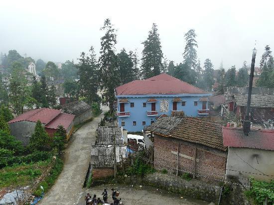 Sapa Elegance Hotel: view from balcony