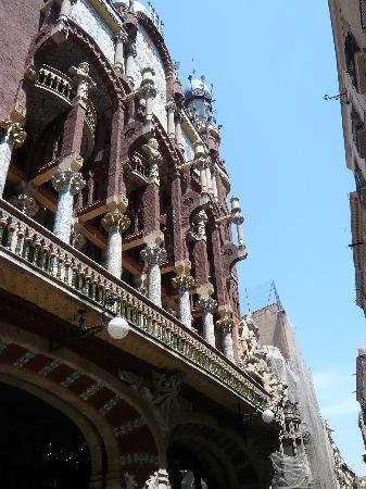 Palau de la Musica Orfeo Catala: Wunderschöne Schmuckelemente