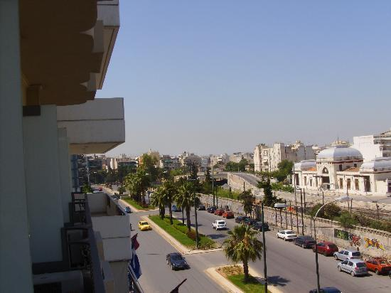 Hotel Ariston: the view from the second balcony