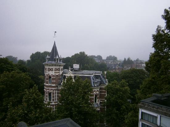 Park Plaza Vondelpark, Amsterdam: view from the room