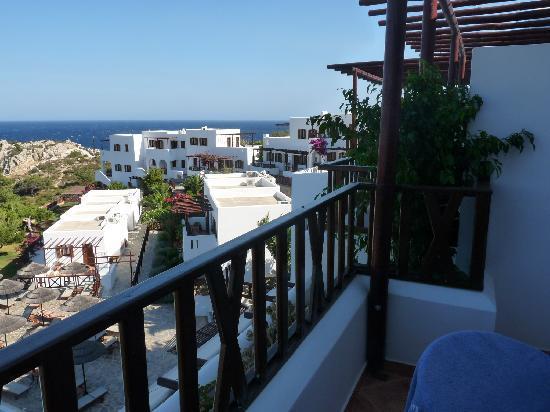 Ammopi, Yunanistan: Aussicht vom Zimmer