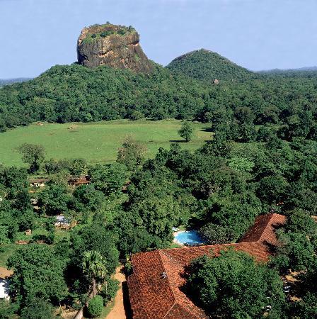 Sigiriya Village Hotel: Ariel View