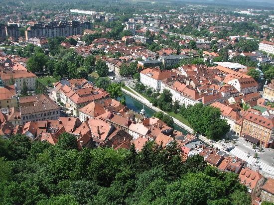 MartaStudio: View from Ljubljana Castle