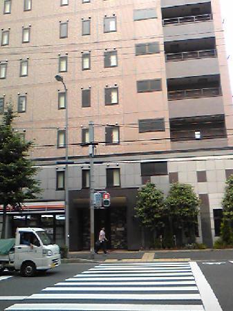 R&B Hotel Kyoto Station Hachijyoguchi: ホテル外観