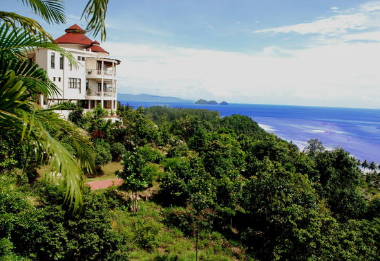 Sunset Hill Resort: Apartments with view