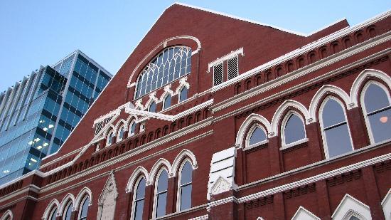 Nashville, TN: Ryman Auditorium