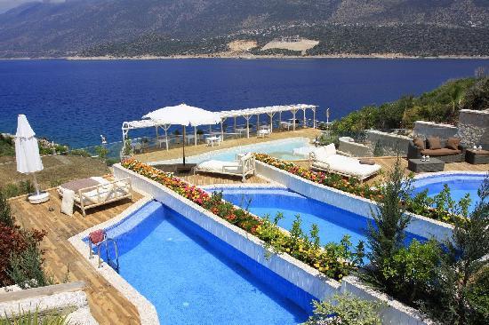 Peninsula Gardens Hotel: my own pool - nice