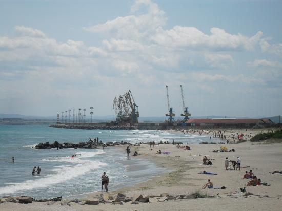 Provincia de Burgas, Bulgaria: Burgas city beach - ok place to swim