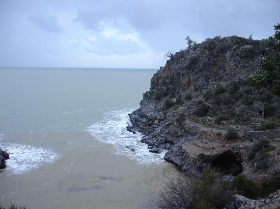 Vor und hinter Alanya, eine atemberauschend Küstenlandschaft