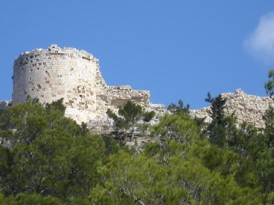 Die Burganlage von Silifke