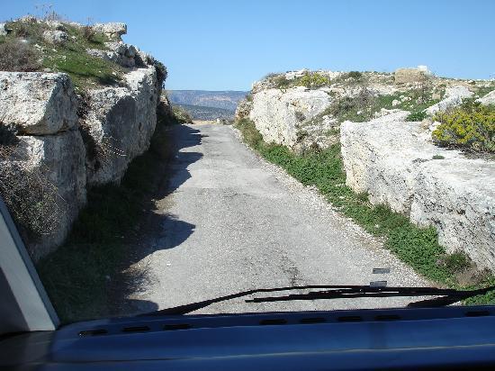 Am Rande von Silifke, die Reste der Stadt der heiligen Thekla