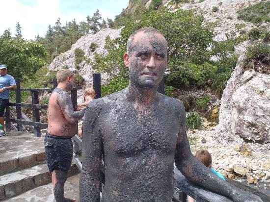 Soufriere, St. Lucia: Mud Springs