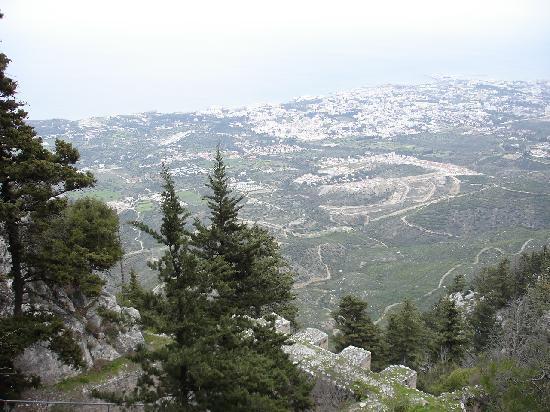 Cypern: Blick von St. Hillarion
