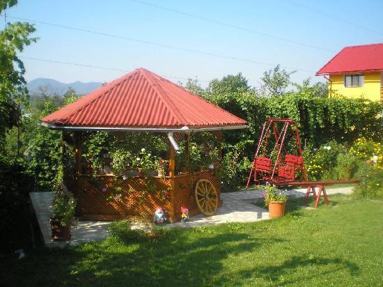 Horezu, رومانيا: gazebo
