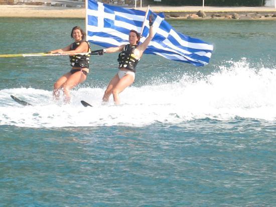 Club Med Gregolimano: dèpart drapeaux