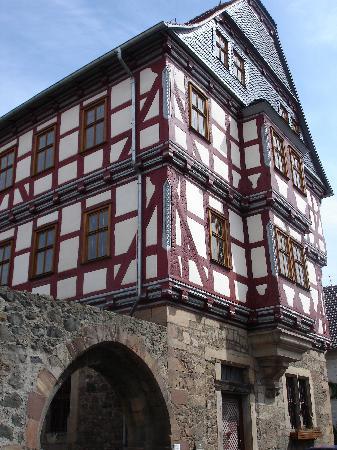 Fritzlar, Deutschland: Mittelalterliche Fachwerkbauten