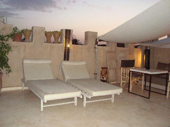 Riad Dar Massai: Terrace