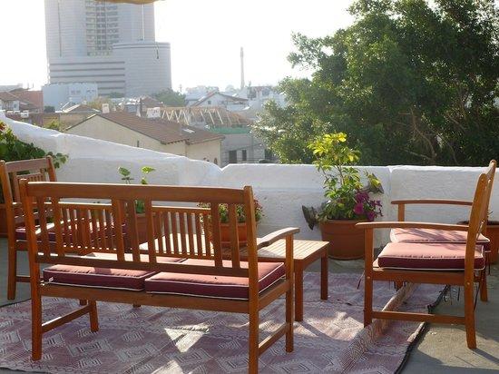 Villa Vilina Oasis in Neve Tzedek: Terrace 3