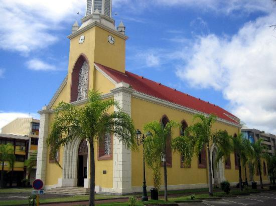Die Kathedrale in Papeete
