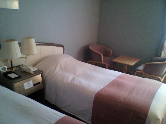 Hotel Livemax Sapporo: シンプルなツインルーム。趣味もいい。