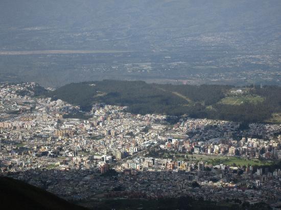 Quito, Ecuador: Blick aus dem Teleferiqo