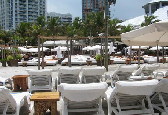 Nikki Beach Miami View From Lounge Chair Area