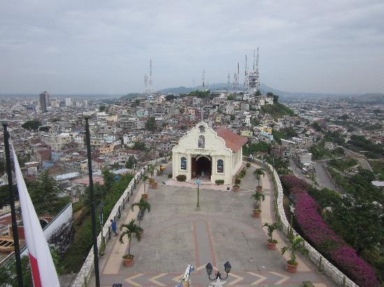 Guayaquil, Ecuador: Blick von Las Penas