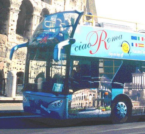 Appian Line Tours Rome: Open Bus