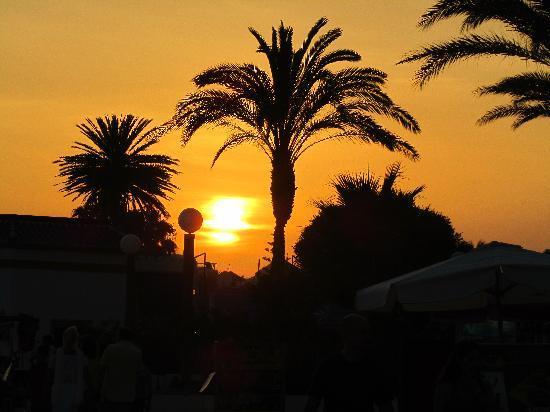 Iberostar Malaga Playa: sunset