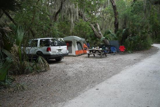 Little Talbot Island State Park - Campsite #7