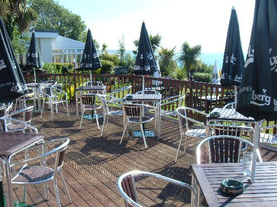 Carlton Hotel: Decked Terrace