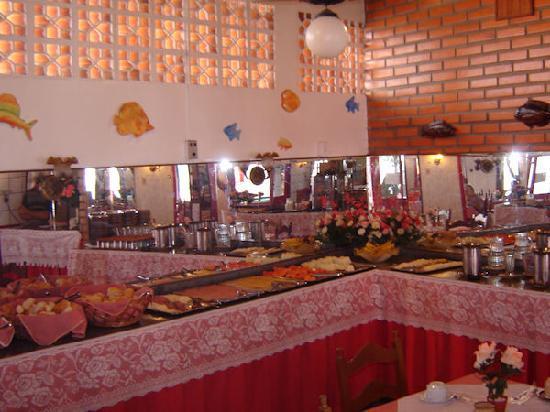 Hotel Residencial Sol e Mar : Salão do café