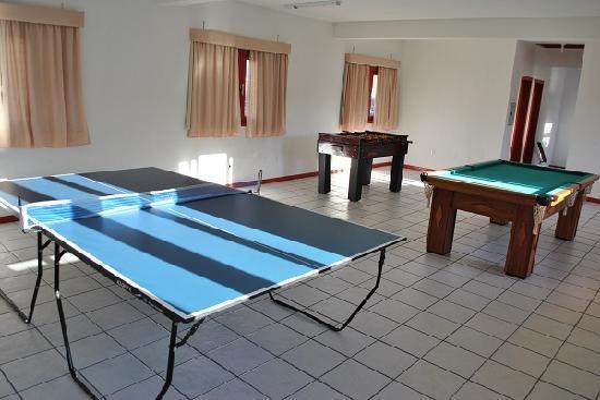 Hotel Residencial Sol e Mar : Sala de jogos
