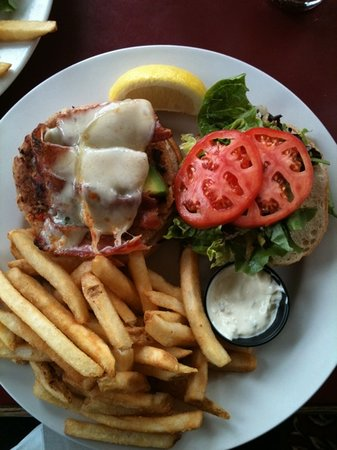 The Shady Rest Waterfront: Crab Burger
