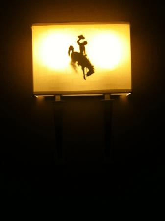 Holiday Inn Laramie: light fixture