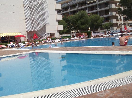Inter2Salou : pool veiw
