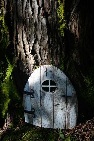 Elf Door at the Outside Inn