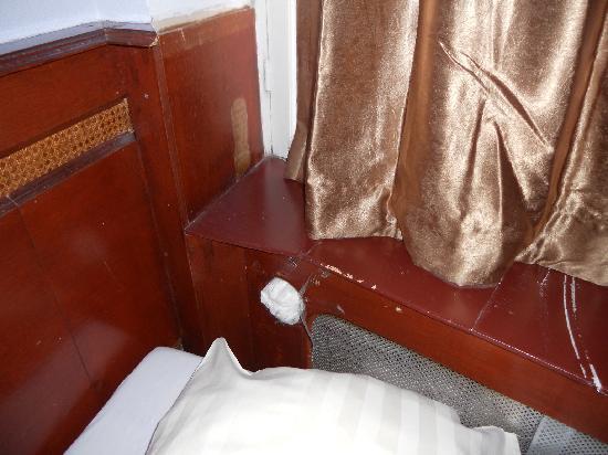 Hotel Manofa: radiateur