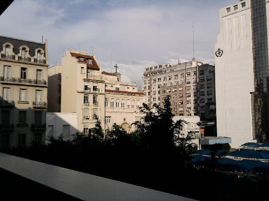 Aspen Suítes Hotel: Vista desde la habitacion