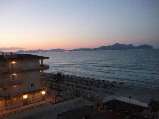 The Sea Hotel by Grupotel: tramonte dal balcone