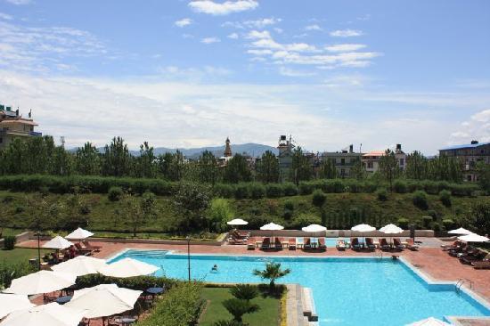 Hyatt Regency Kathmandu: Aussicht :)