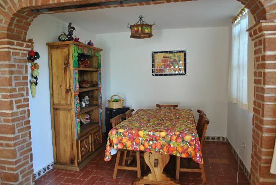 La Casa de Dona Ana: Dining room