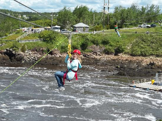 Saint John, Canadá: Over the Reversing Rapids