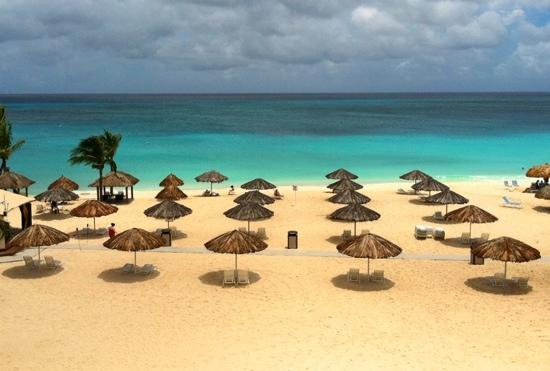 Bucuti & Tara Beach Resort Aruba: view from our Tara beach suite