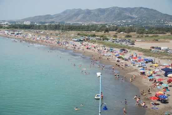 Tryp Malaga Guadalmar Hotel: Beach