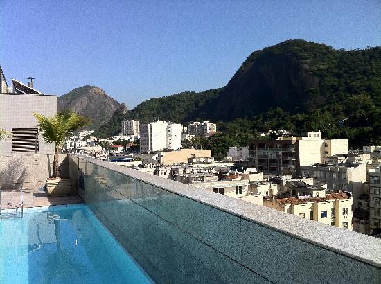 Windsor Plaza Copacabana Hotel: Blick vom Dach