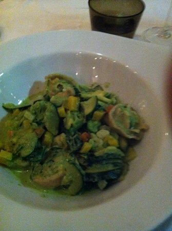 Restaurant Lebenbauer: mixed veggie ravioli