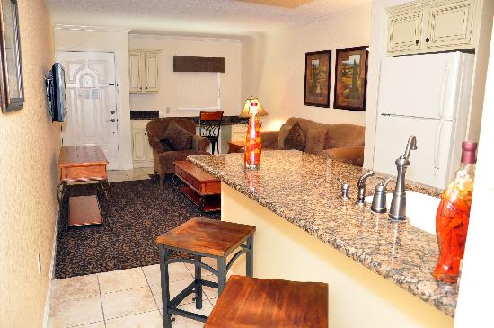 Orlando Courtyard Suites: Living room