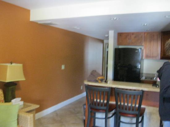 Put-in-Bay Resort Hotel and Conference Center: view of kitch/livg rm area as you enter